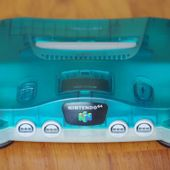 Console Nintendo 64 Clear Blue